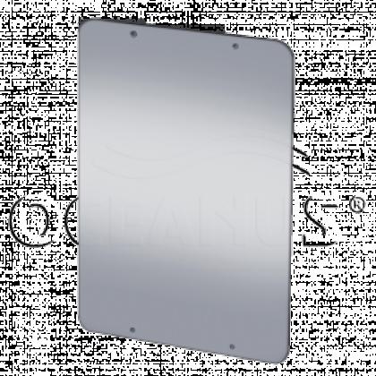 Зеркало из нержавеющей стали антивандальное
