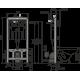 Инсталляция AlcaPlast AM101/1120 Sádromodul для сухой установки (для гипсокартона)