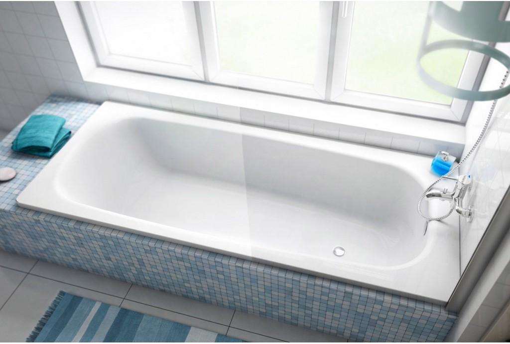 Преимущества стальных ванн