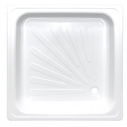 Поддон душевой стальной эмалированный 900*900*115 Виз Antika