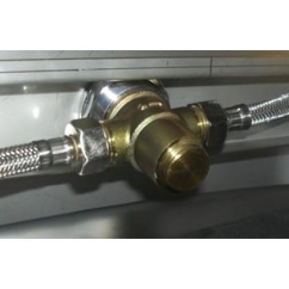 Нажимной механизм для мойки стальной