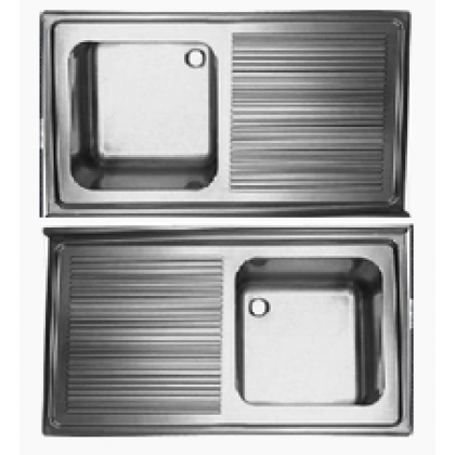 Ванна моечная с одной столешницей МВ-1