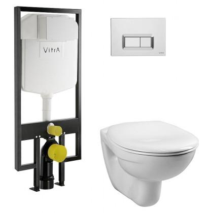 Инсталляция Vitra Normus комплект- подвесной унитаз+инсталляция 4 в 1